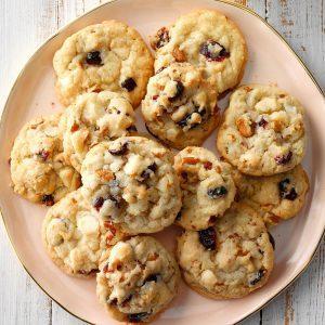 Texas: Cranberry Pecan Cookies