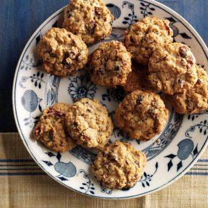 Nebraska: Cranberry Pecan Oatmeal Cookies