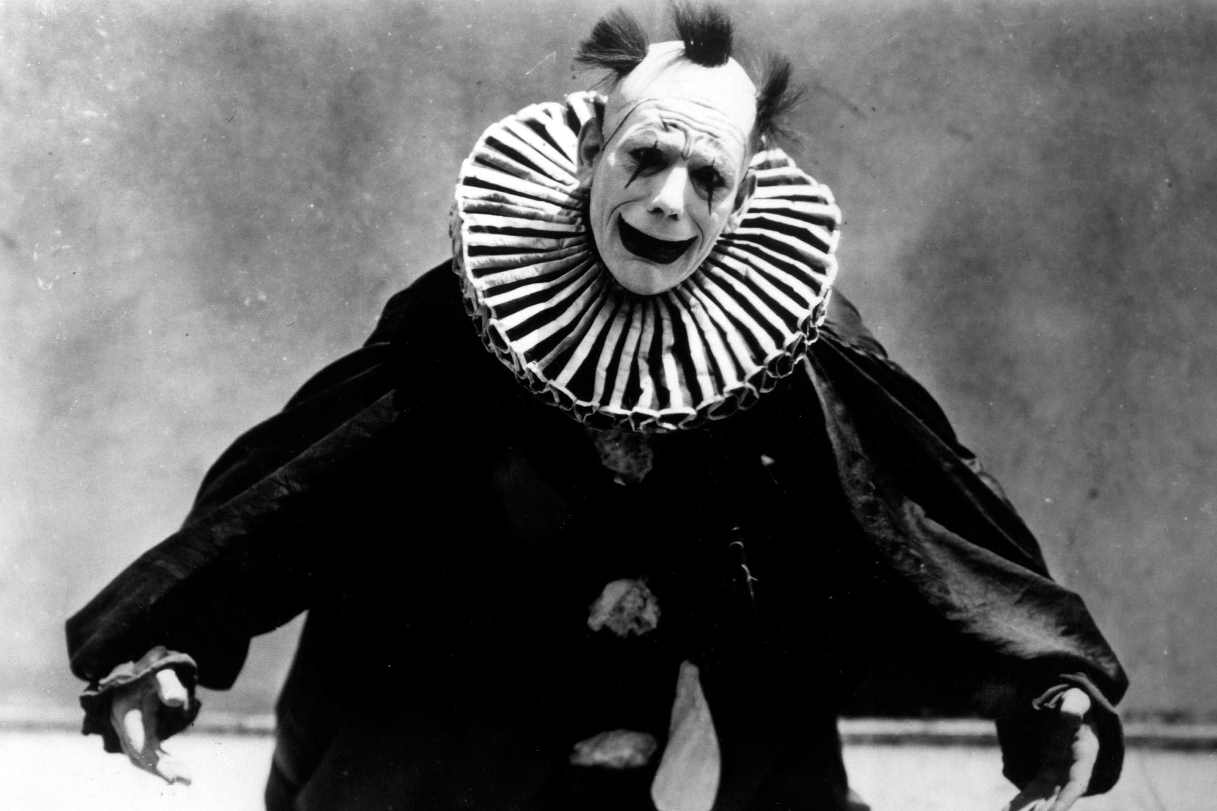 creepy clown