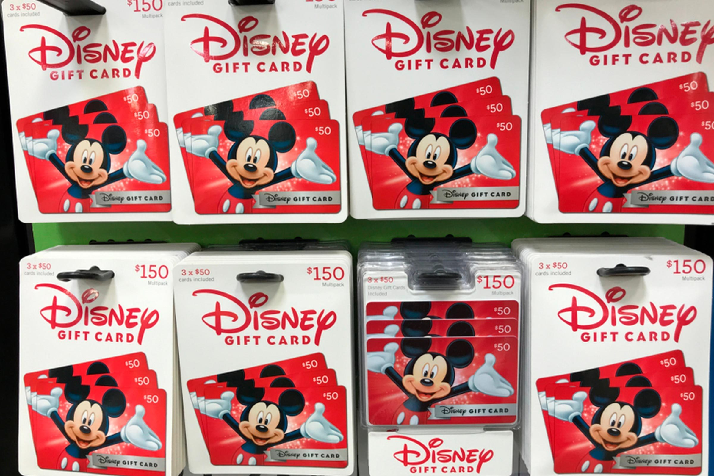 Disney Giftcards