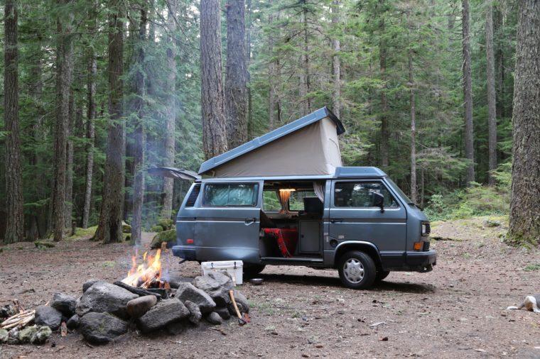 Outdoorsy Campervan Rentals Thanksgiving destinations