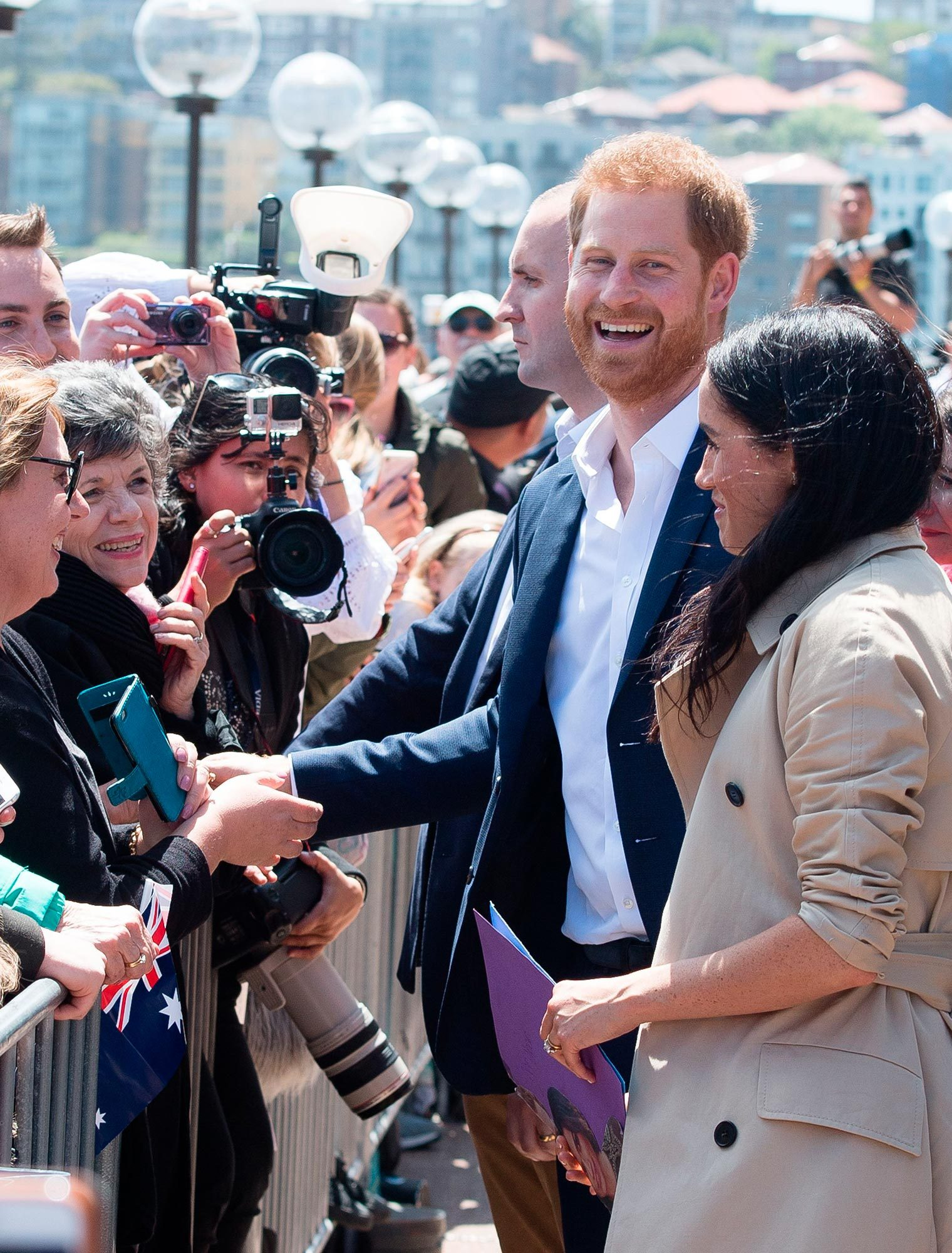 Duke and Duchess of Sussex arrive in Sydney, Australia