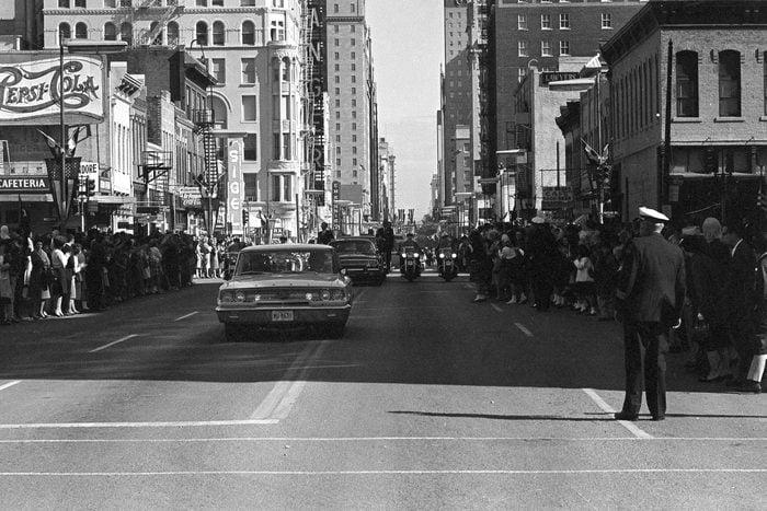 Eyewitness for JFK assassination