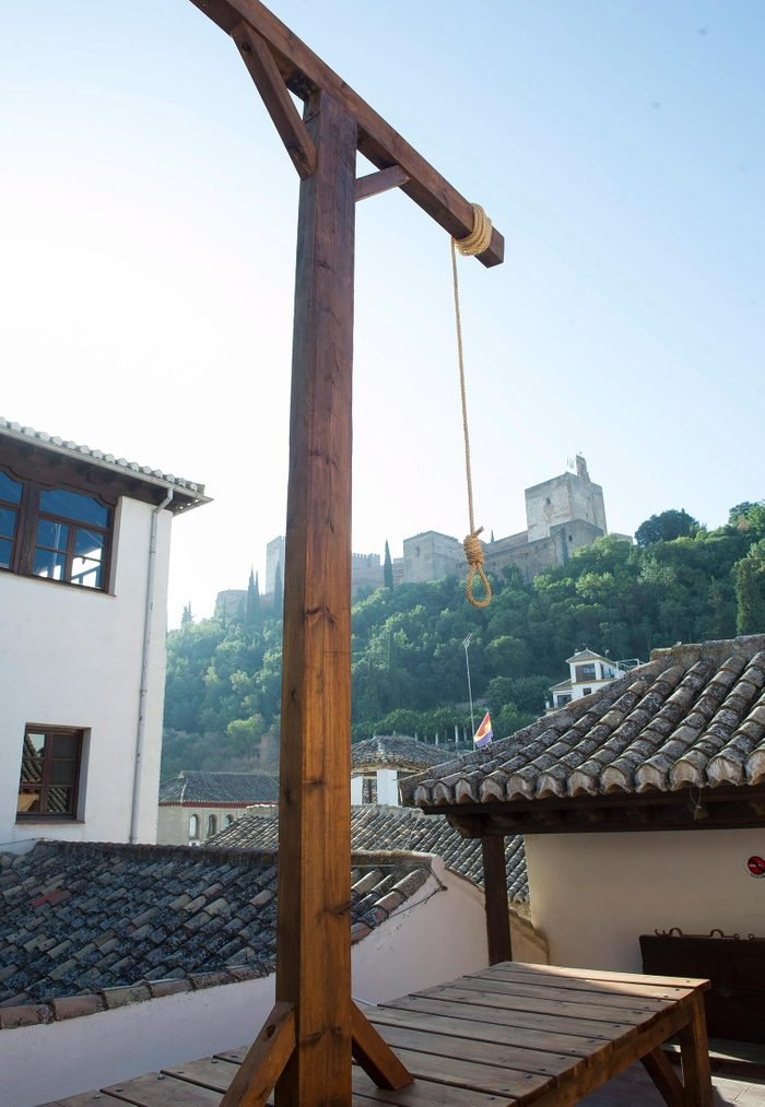 Gallows in Spain
