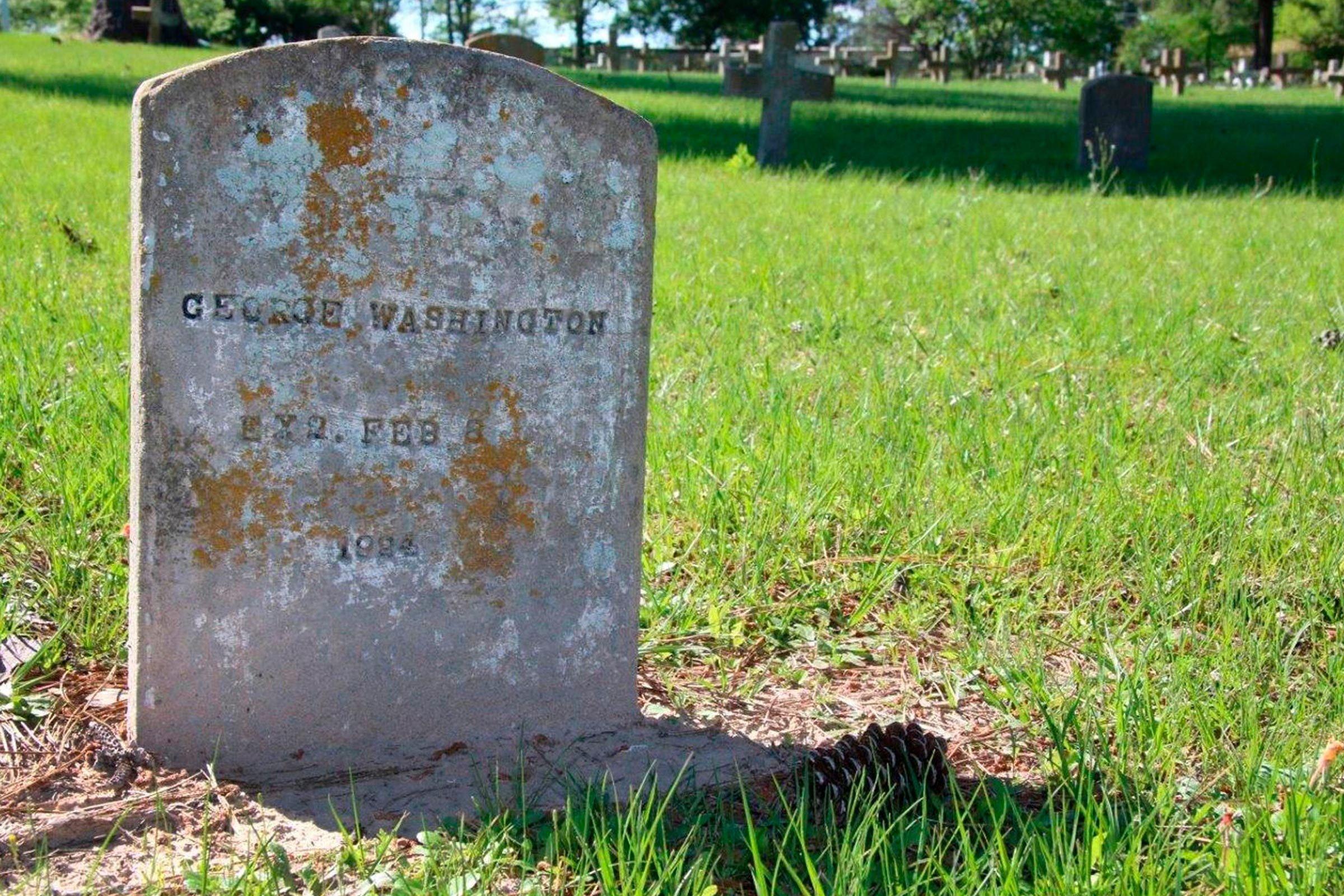 George Washington grave