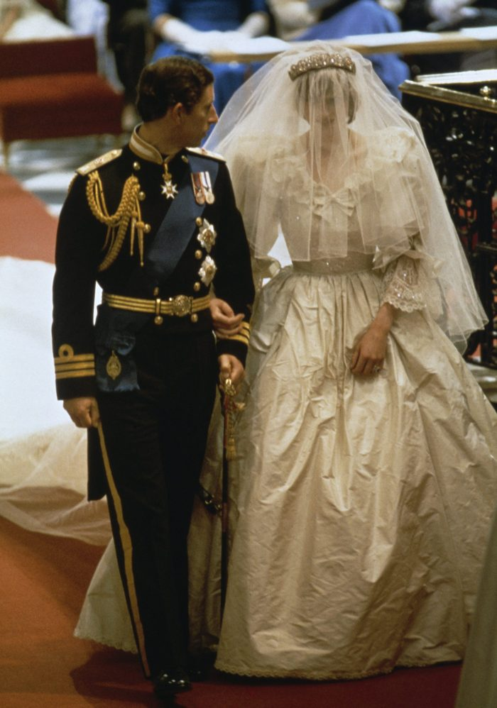 The wedding of Prince Charles and Lady Diana Spencer at St Paul's Cathedral in London