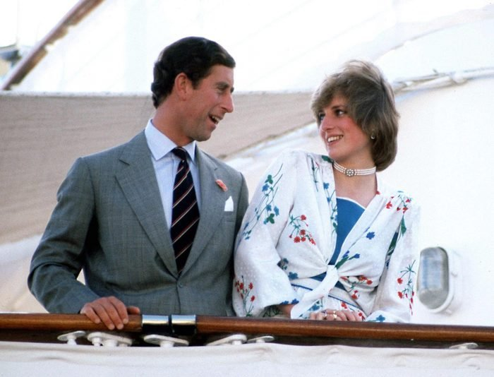 The Prince and Princess of Wales leave Gibraltar on the Royal Yacht Britannia for their honeymoon cruise