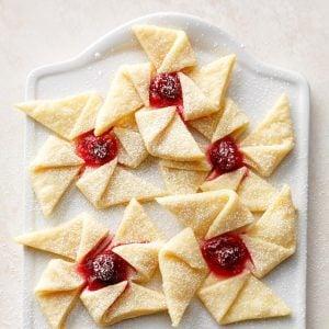 Maine: Ginger Cranberry Pinwheels