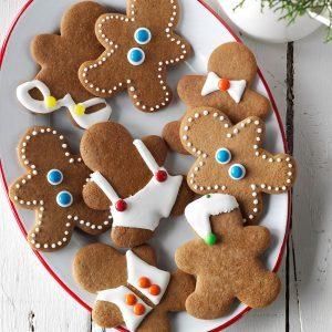 Maryland: Gingerbread Men Cookies