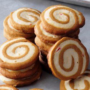 Vermont: Gingerbread Peppermint Pinwheels