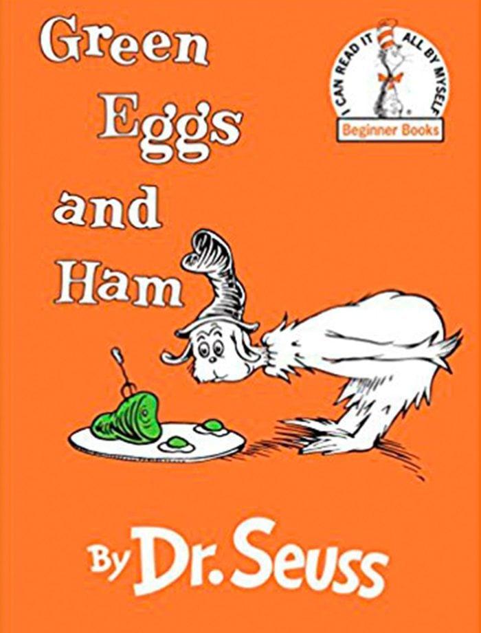 Green Eggs and Ham popular children's books