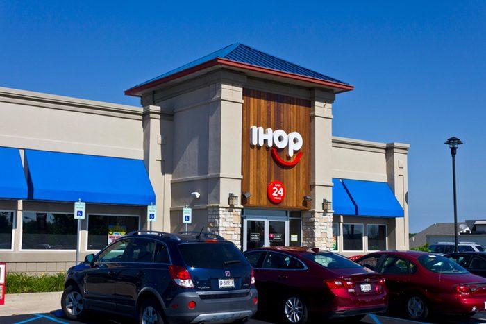 IHop exterior