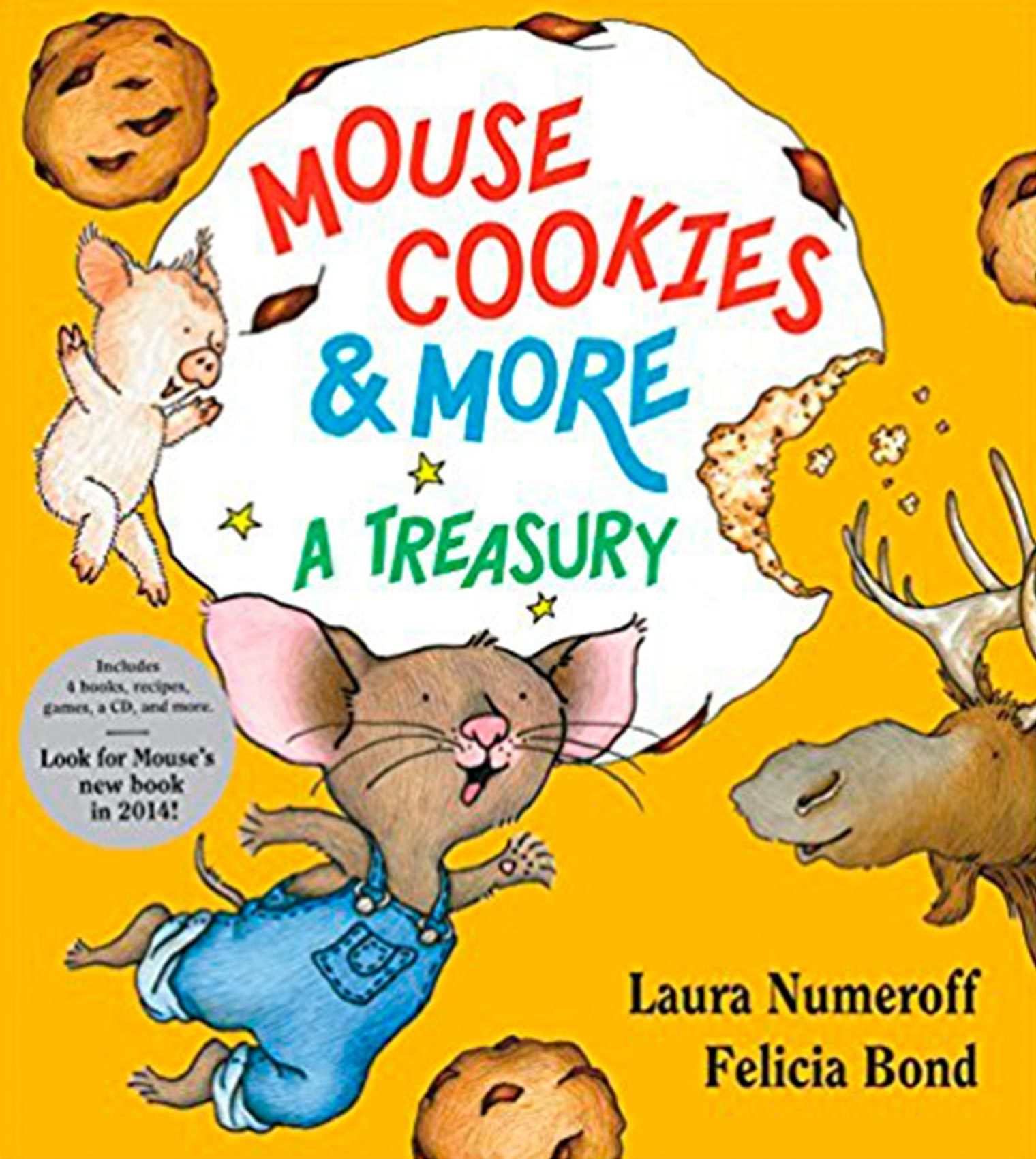 If you give a mouse a cookie best children's books