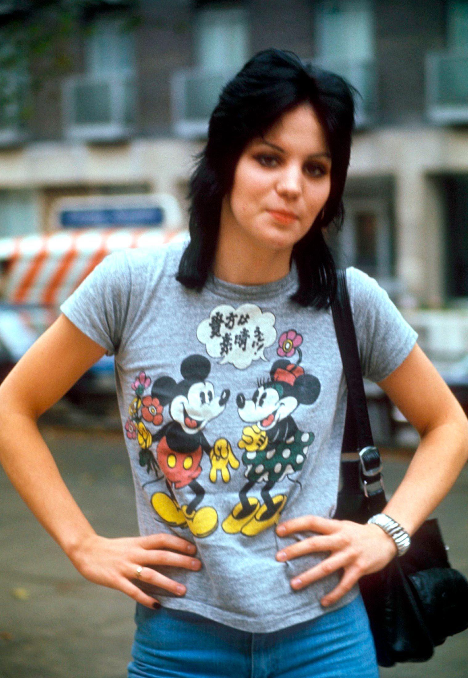 Joan Jett and Mickey