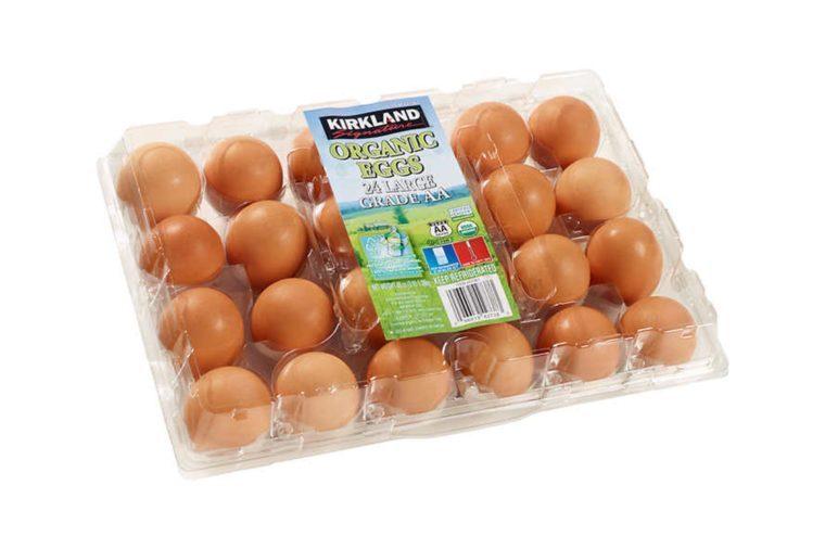 Kirkland Signature Organic Large Brown Eggs, 2 dozen