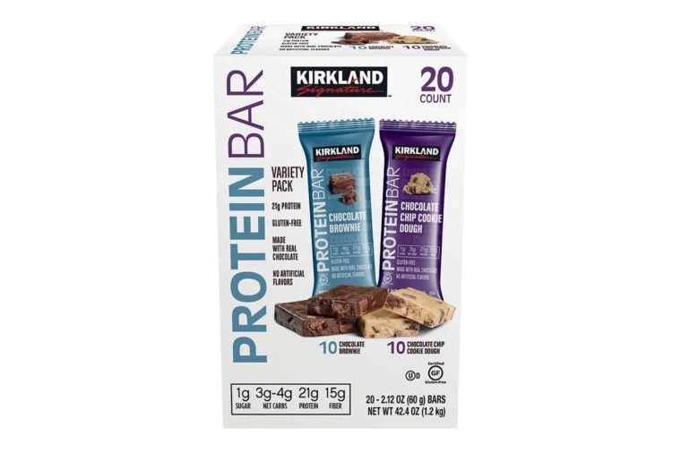 Kirkland Signature Protein Bar, Variety Pack, 2.12 oz, 20 ct