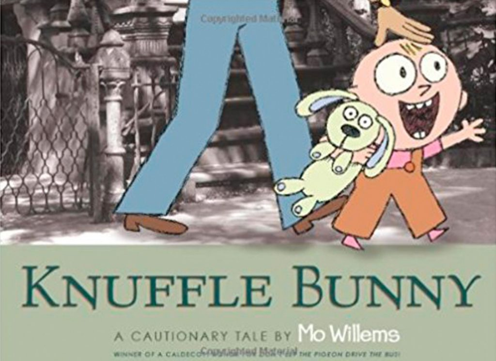 Knuffle Bunny best children's story books