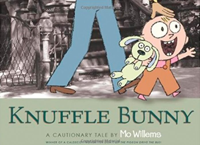 Knuffle Bunny best children's story books