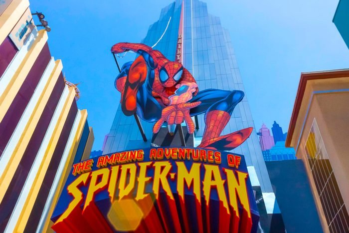 Marvel character spiderman