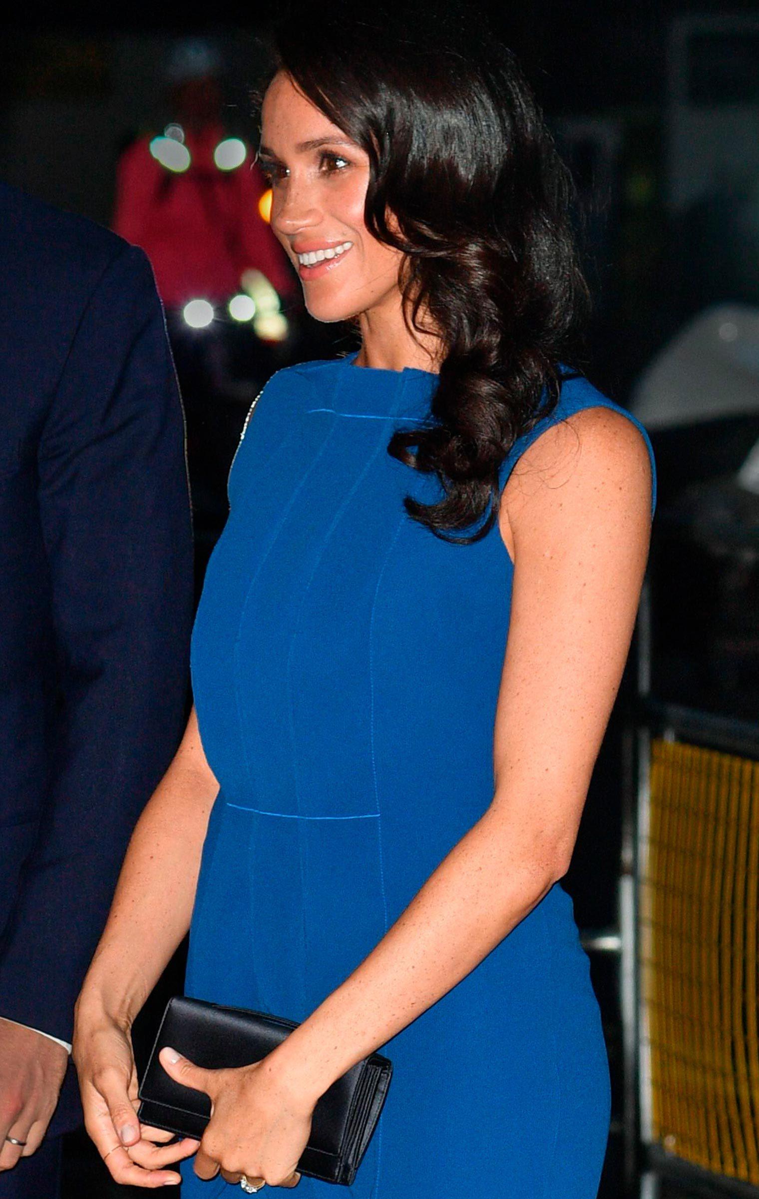Meghan Duchess of Sussex ruffle dress