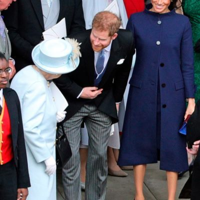 Meghan Markle outfit at Princess Eugenie's wedding