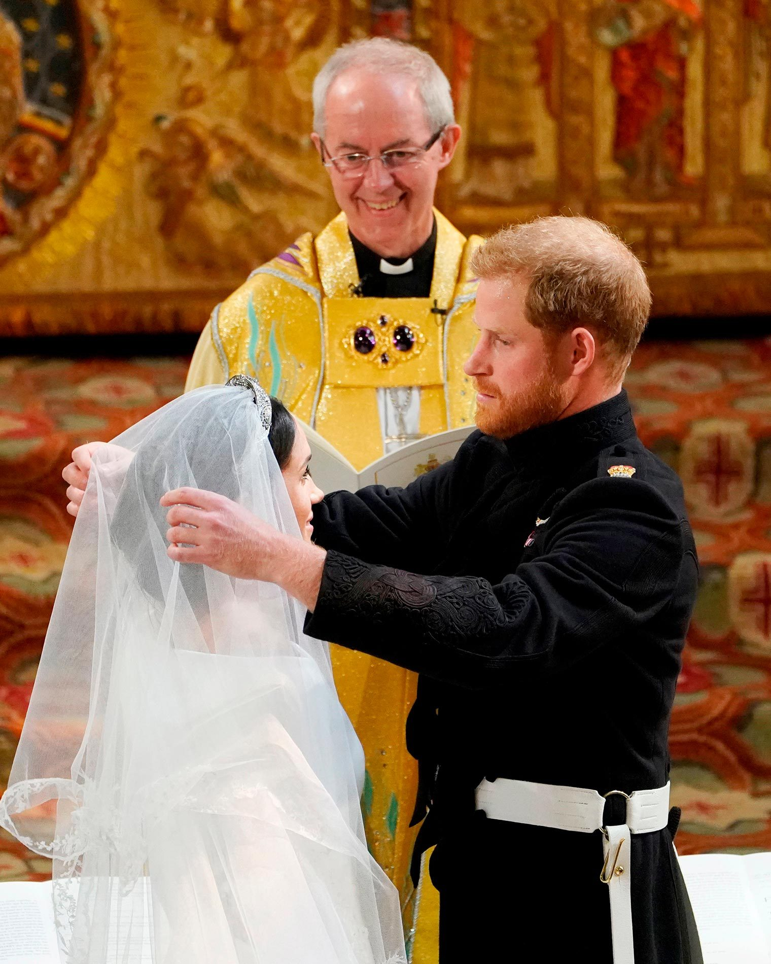 Details You Never Noticed About Meghan Markle's Wedding