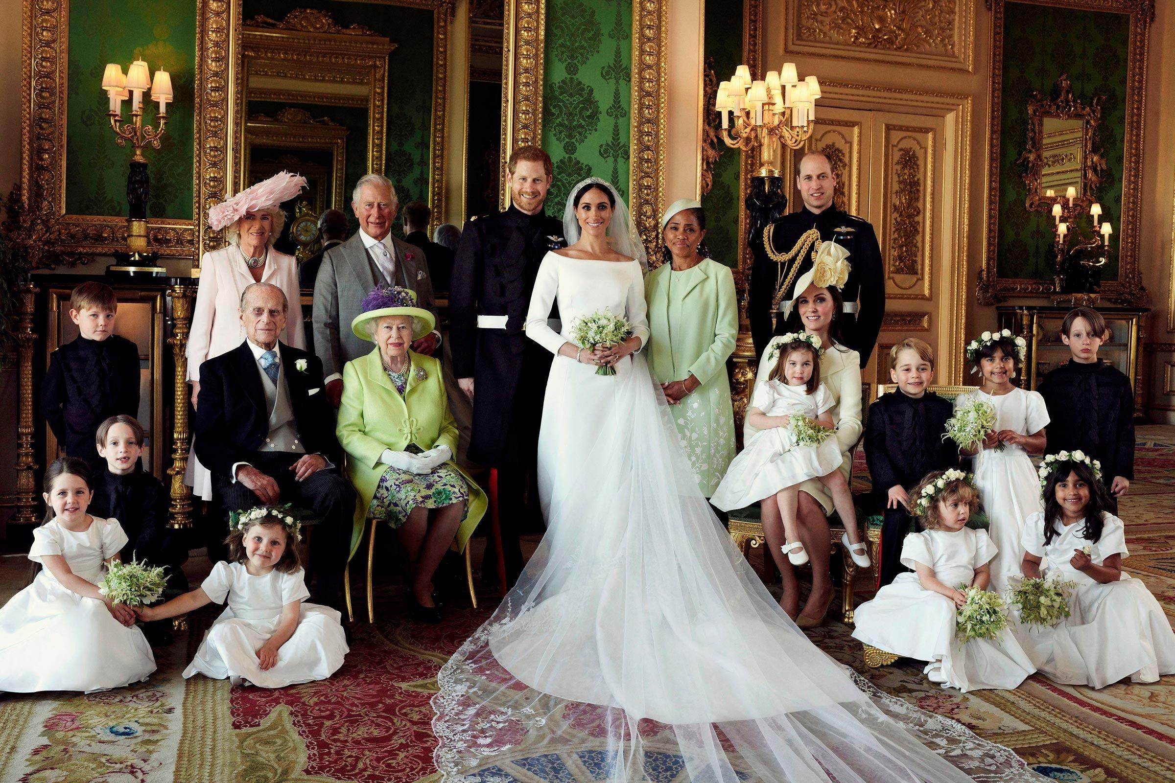 Meghan Markle's wedding look