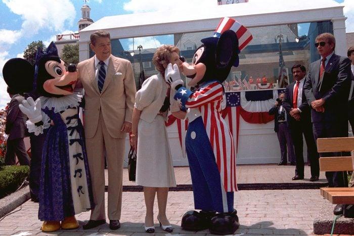 Mickey and Reagans