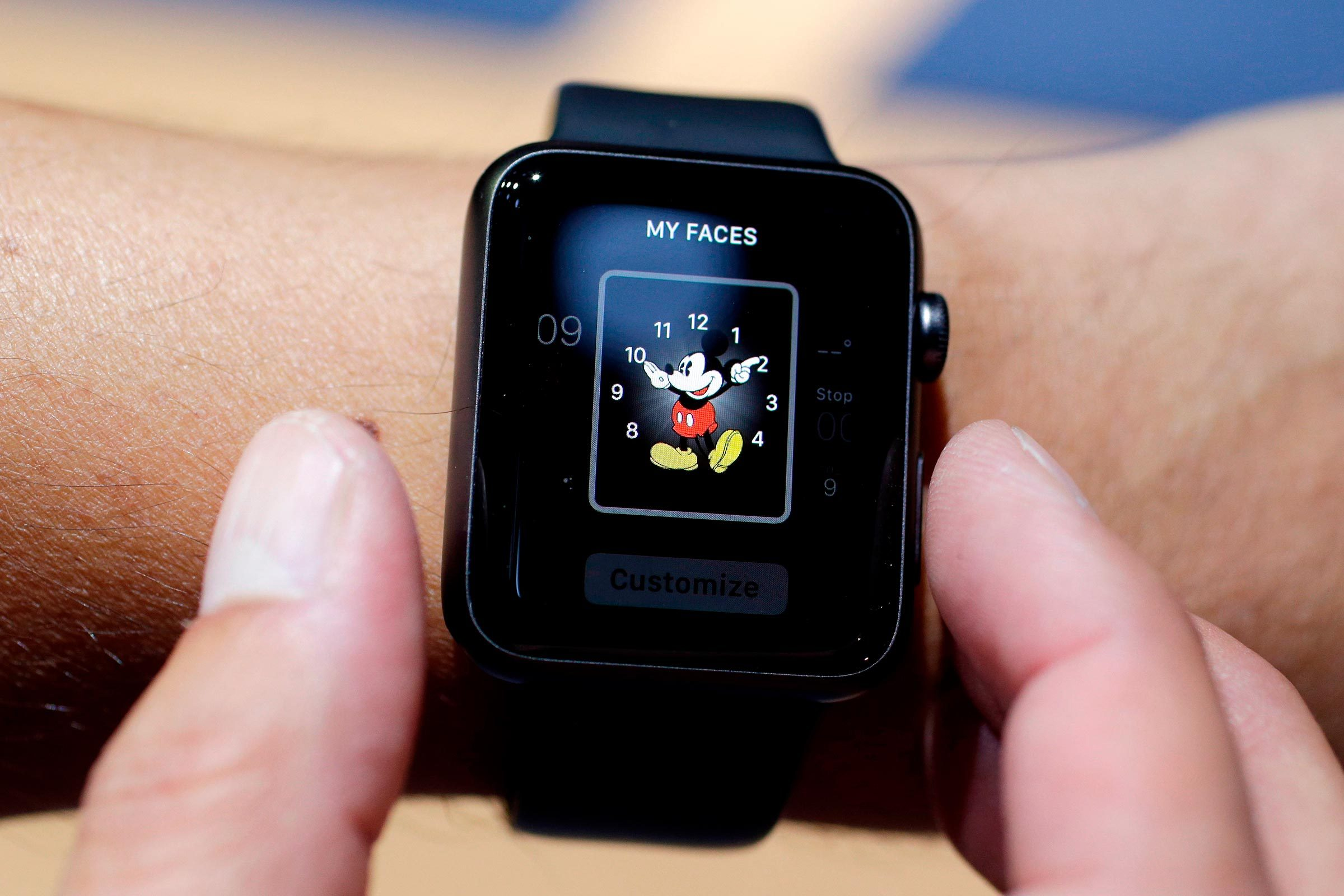 Mickey apple watch