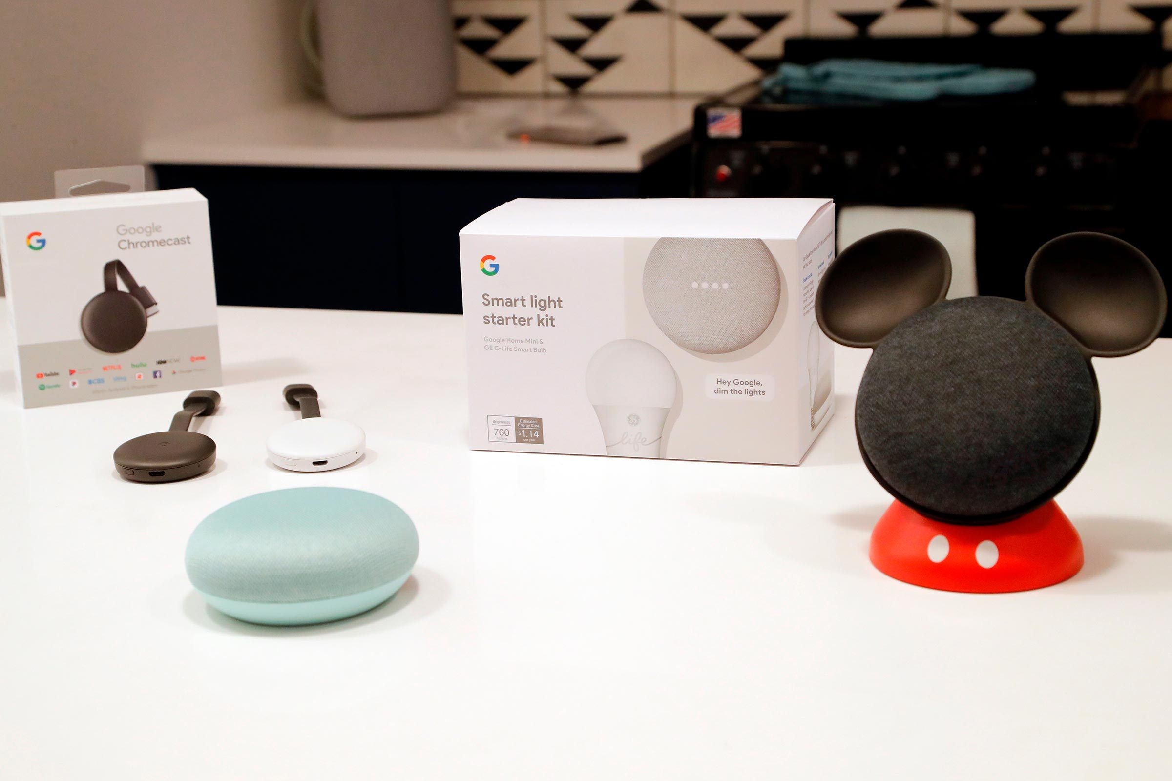Mickey google home mini