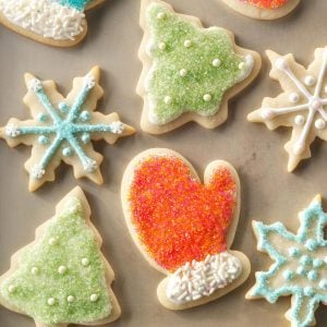 Virginia: Nice 'n' Soft Sugar Cookies