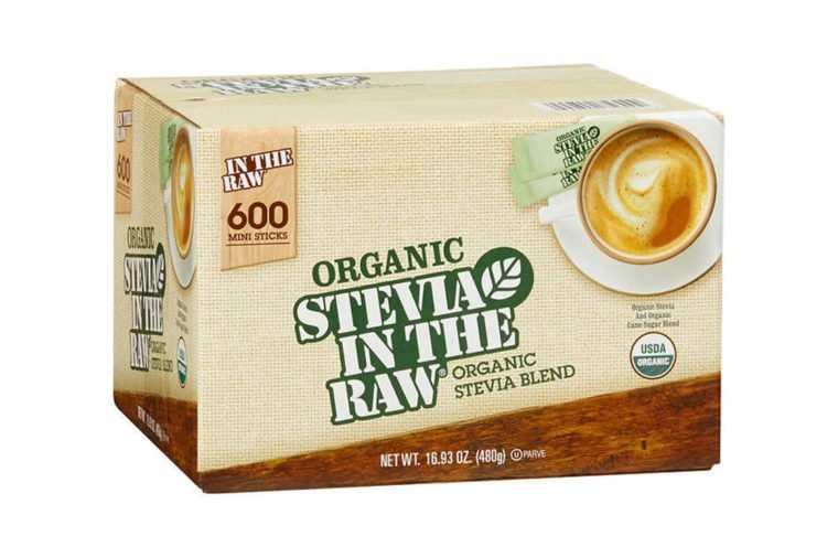 Organic Stevia in the Raw Zero Calorie Sweetener Portion Packets, 600 ct