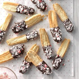 Oregon: Peppermint Puff Pastry Sticks