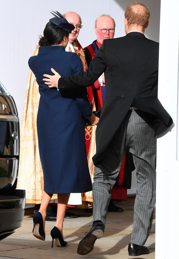 Prince Harry Meghan Duchess of Sussex at Princess Eugenie's Wedding