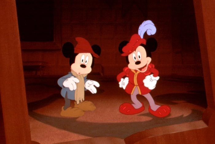 Prince and Pauper mickey