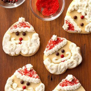 Washington: Santa Sugar Cookies