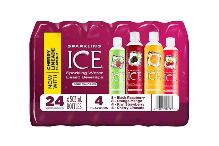 Sparkling Ice Carbonated Flavoured Water Variety Pack 24 × 503 mL
