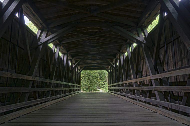 Covered bridge - Forbidden Drive Philadelphia