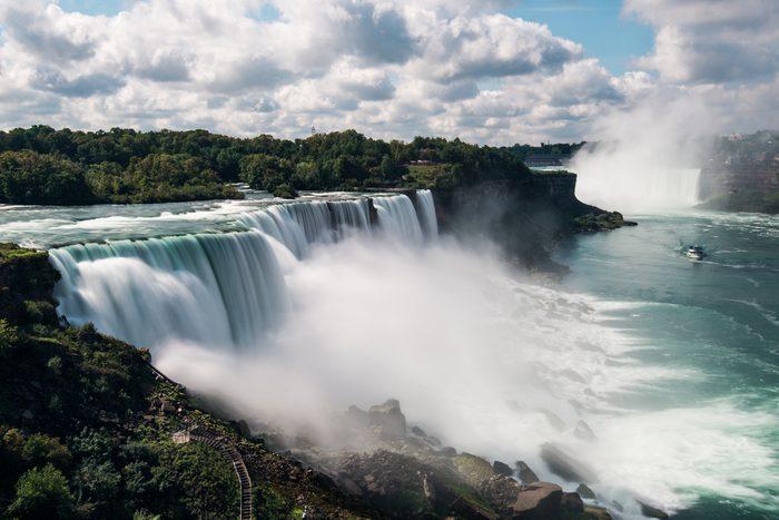 Niagara Falls from USA Landscape View