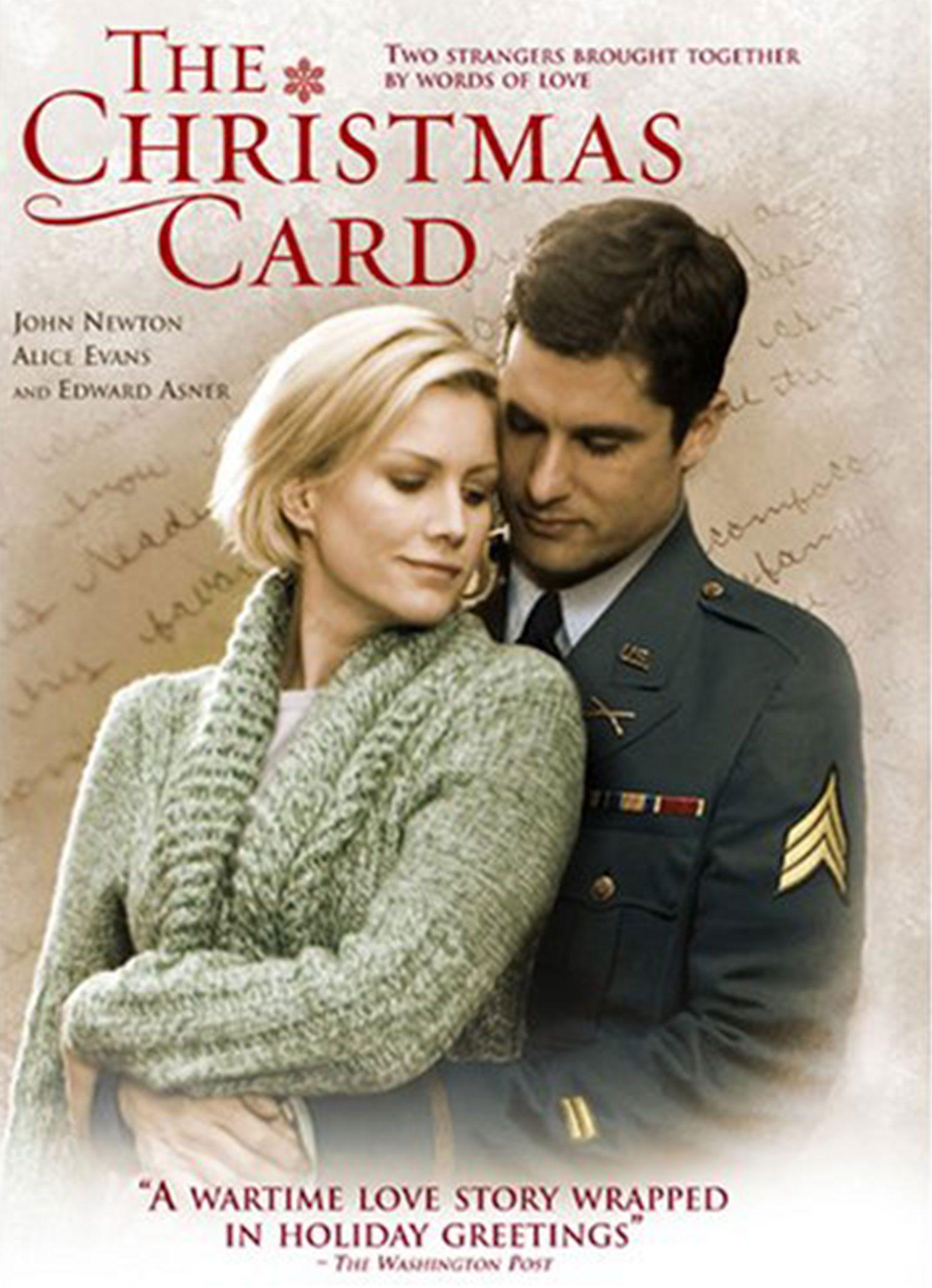 the christmas card - Best Hallmark Christmas Movies
