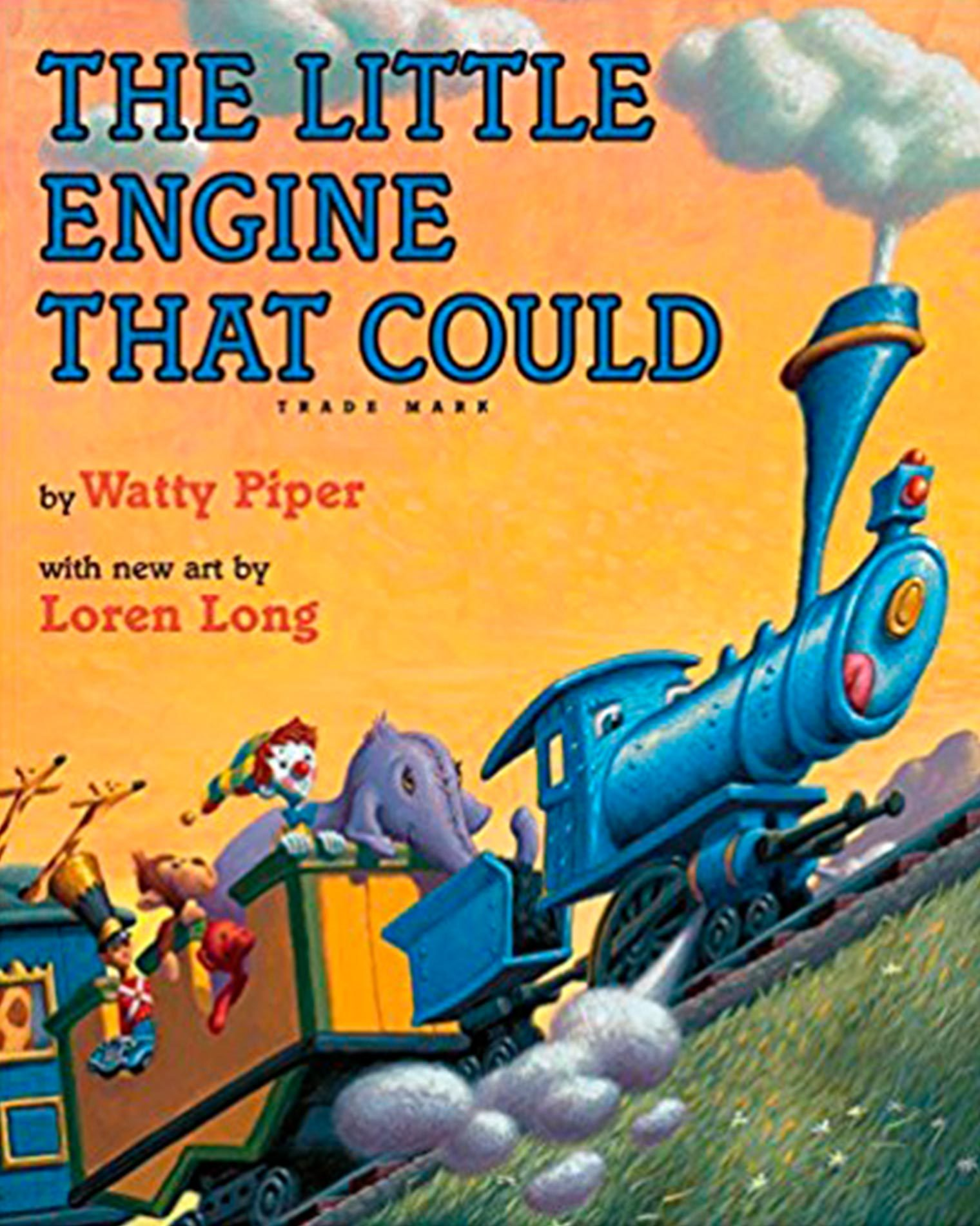 The Little Engine that Could classic children's story books