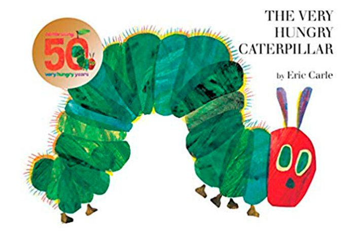 The Very Hungry Caterpillar best children's books for toddlers