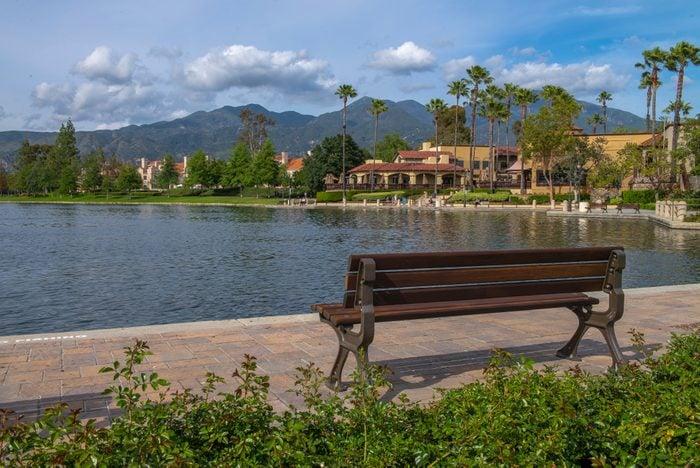 Rancho Santa Margarita Lake, Orange County, California. USA