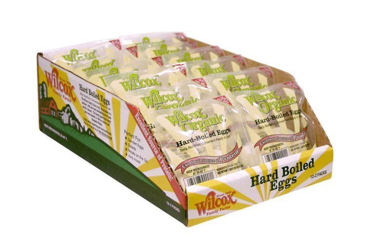 Wilcox Organic Hard Boiled Eggs, 2 pk, 12 ct