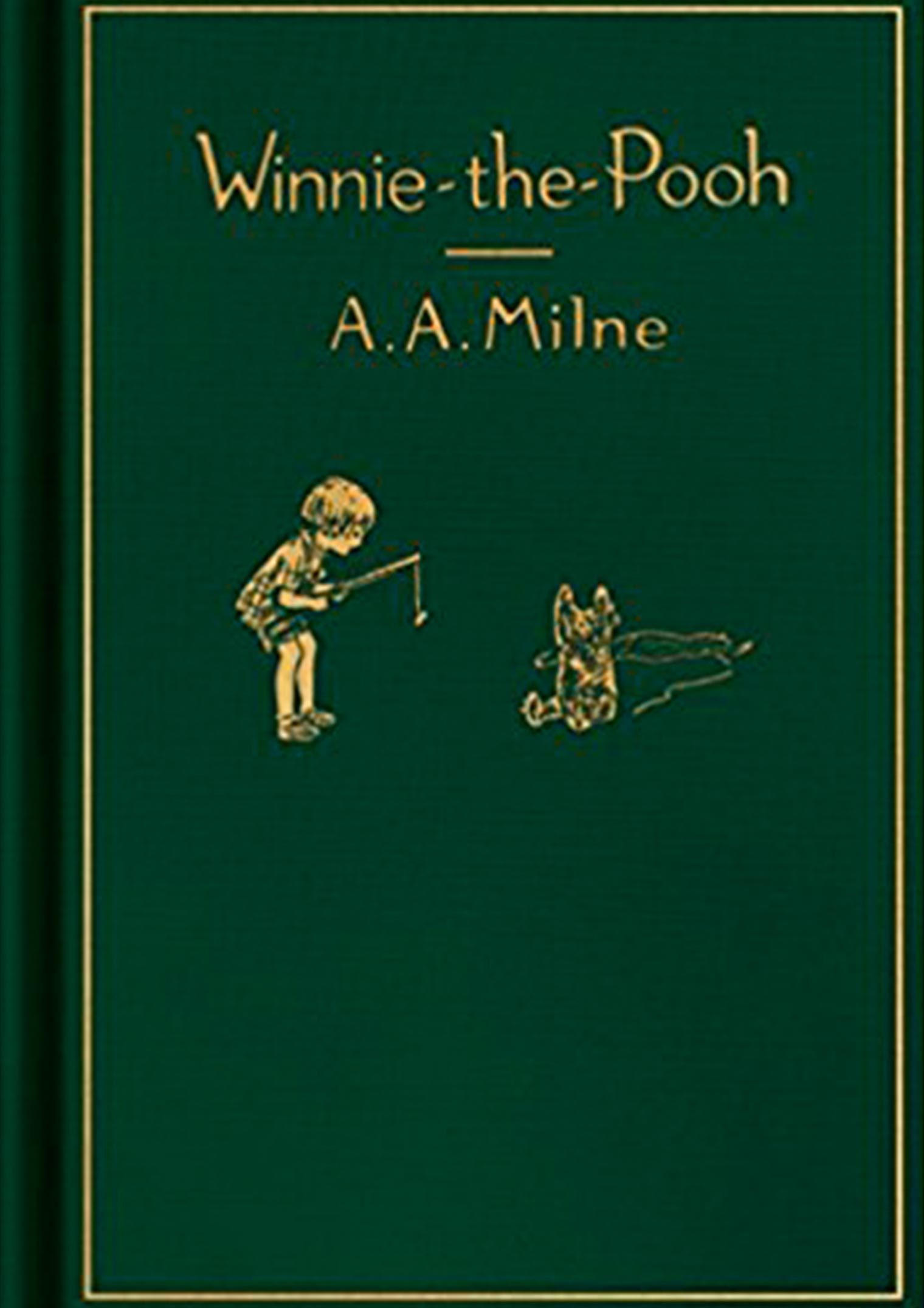 Winnie the pooh classic story books for children