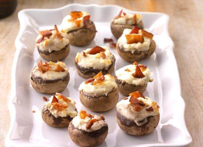 Bacon-Stuffed-Mushrooms