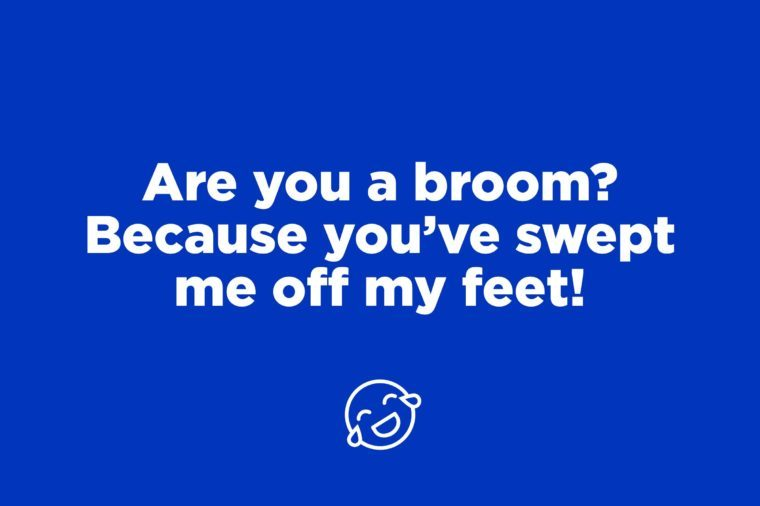 broom pick up line