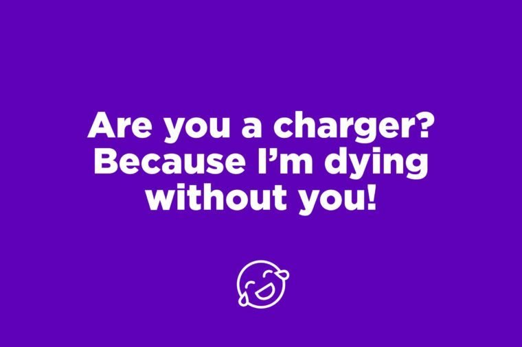 charger pick up line