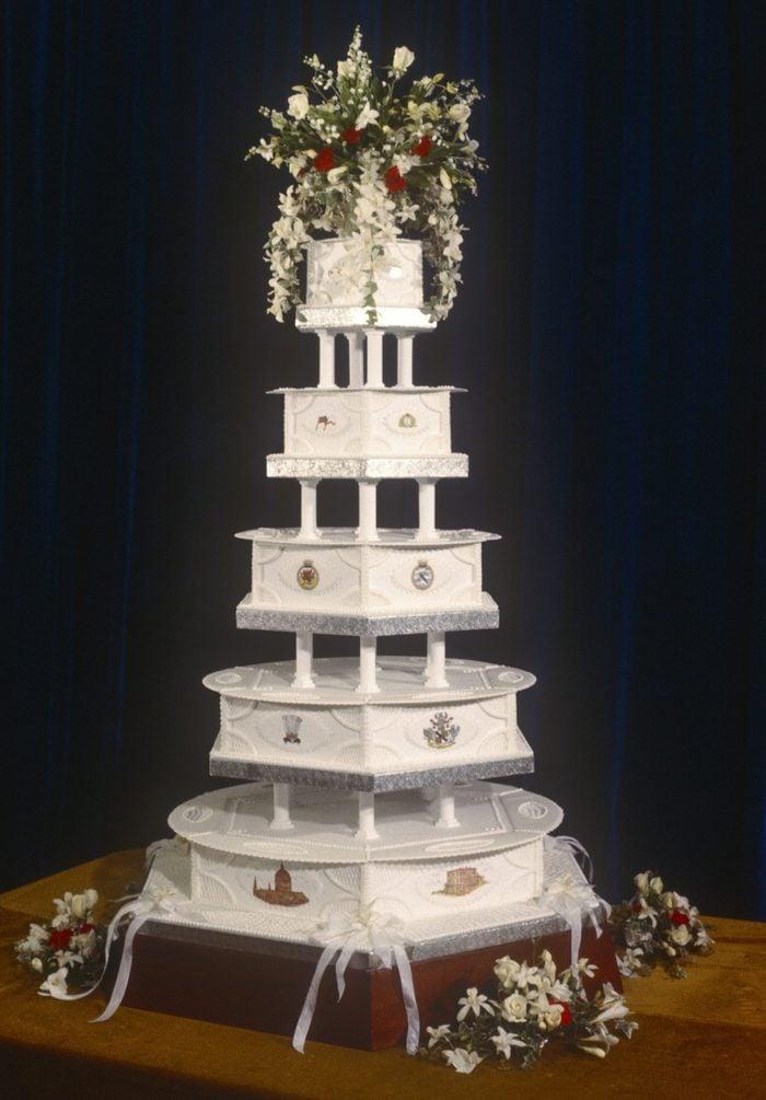 Charles & Diana Royal Wedding Cake