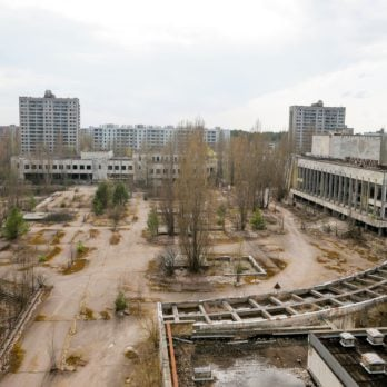 Chernobyl Aftermath, Pripyat, Ukraine - 05 Apr 2017